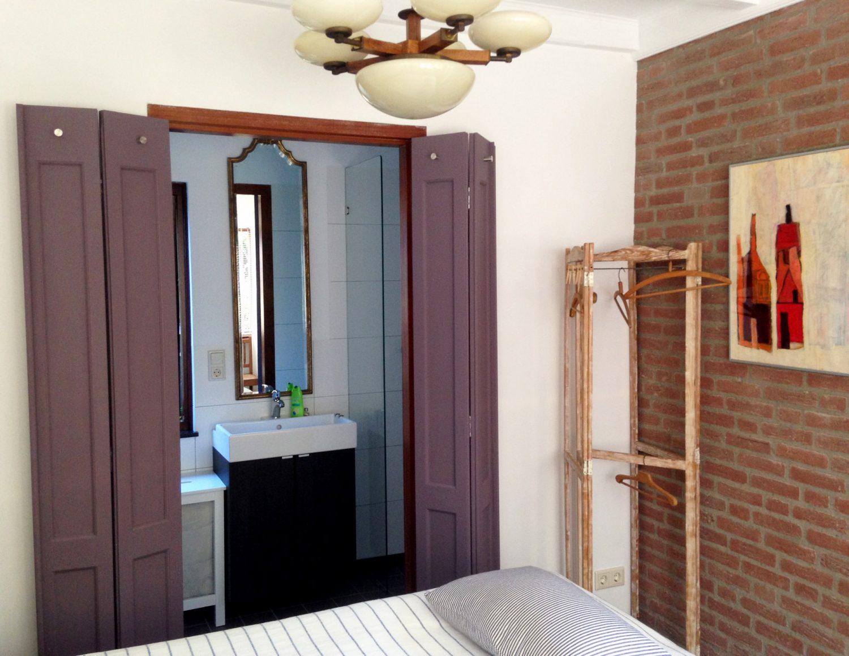 Badkamer Vanuit De Slaapkamer